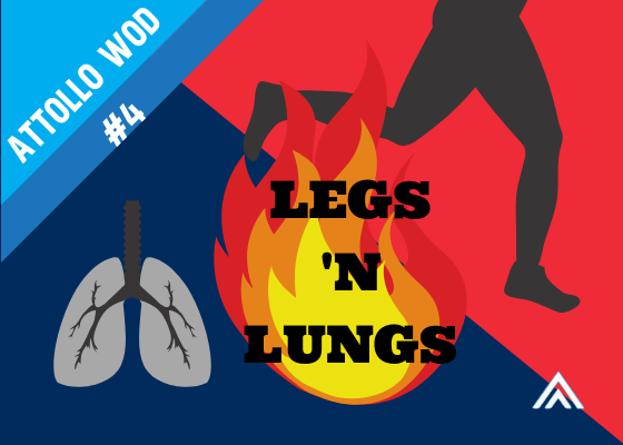 Legs and Lungs - Attollo WOD #4. website