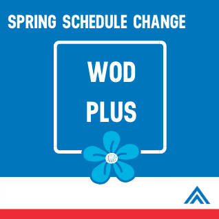 SPRING SCHEDULE CHANGES WEBSITE)